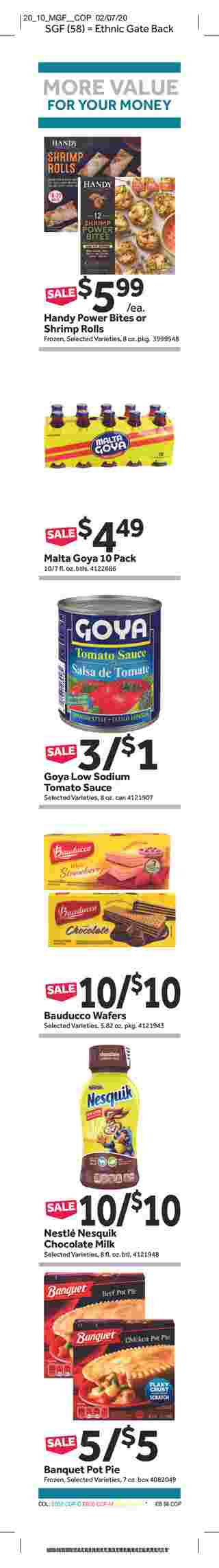 Stop & Shop - deals are valid from 02/28/20 to 03/05/20 - page 18.