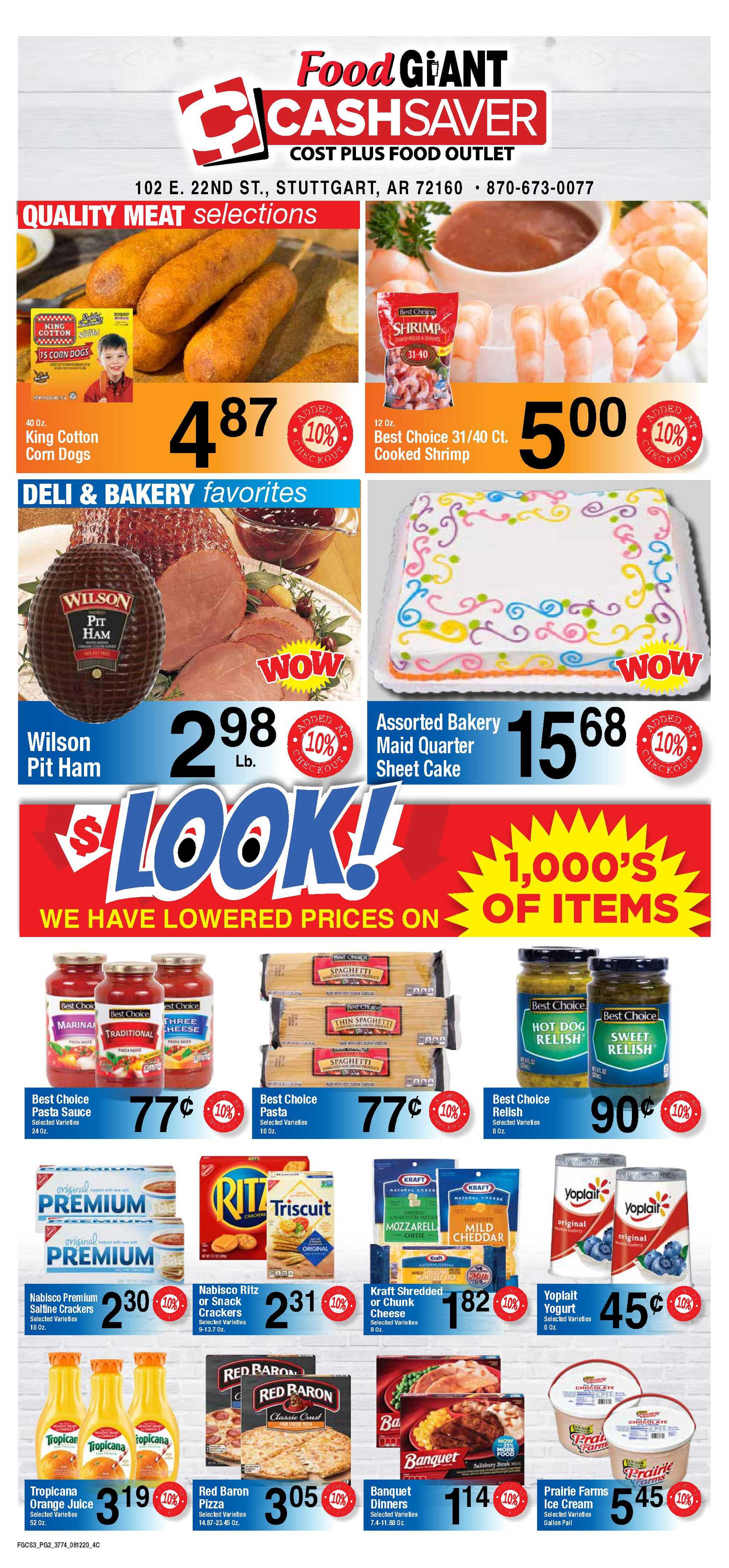 Food Giant - deals are valid from 08/12/20 to 08/18/20 - page 2.