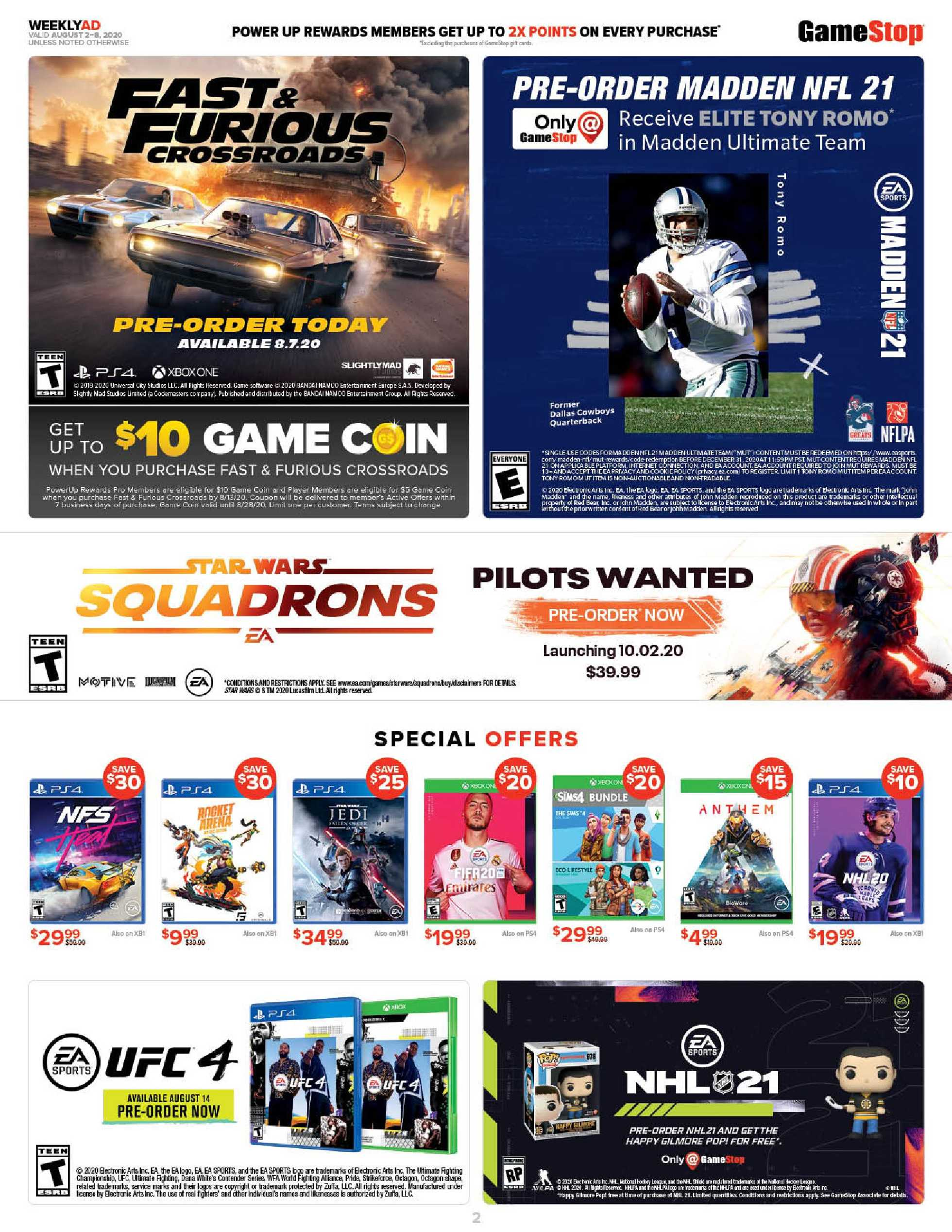 GameStop - deals are valid from 08/02/20 to 08/08/20 - page 2.