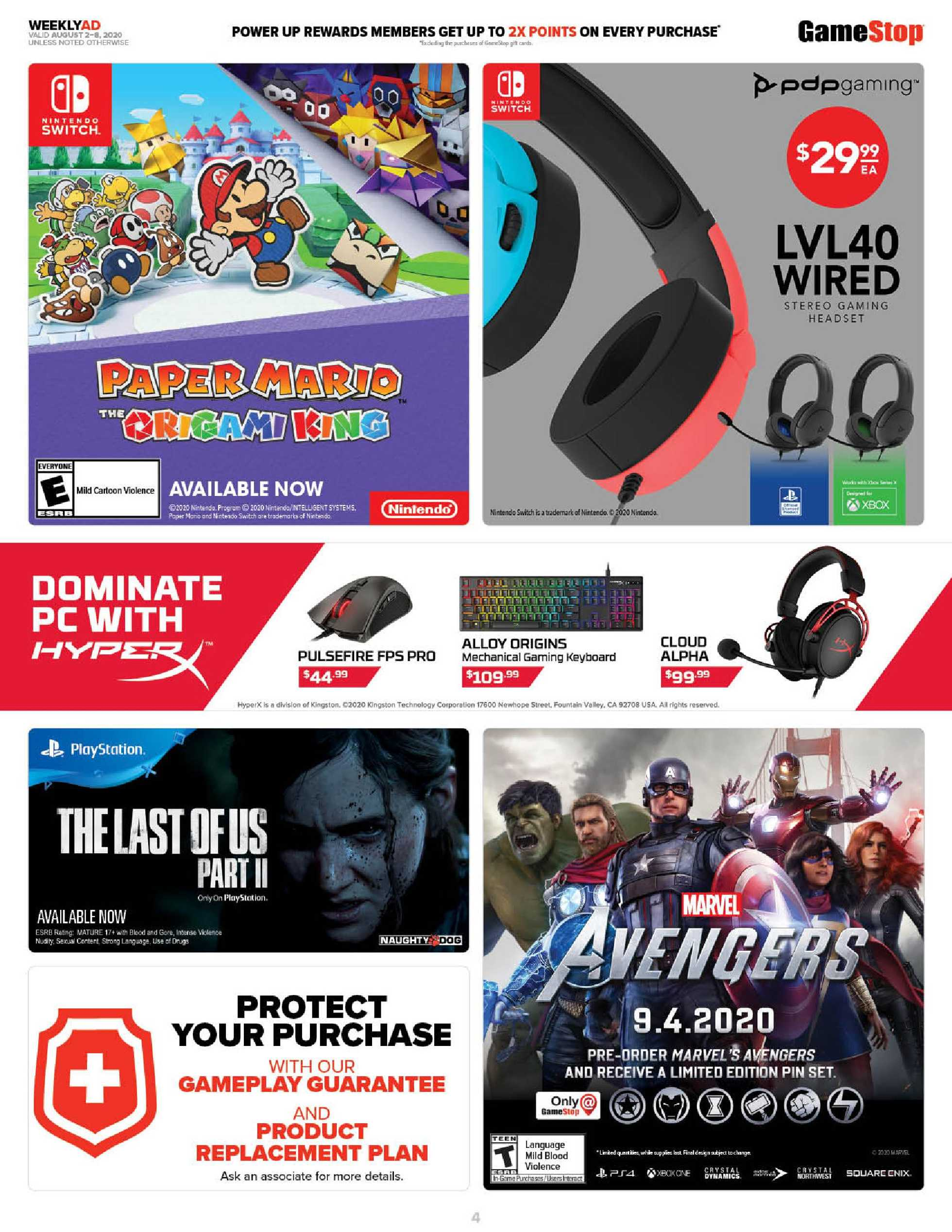 GameStop - deals are valid from 08/02/20 to 08/08/20 - page 4.