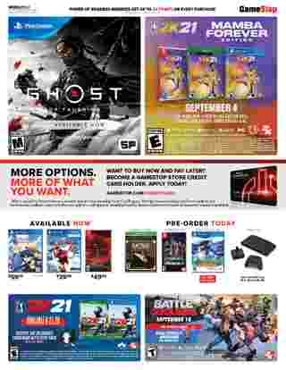 GameStop - deals are valid from 08/02/20 to 08/08/20 - page 5.