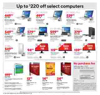 Staples - deals are valid from 11/01/20 to 11/07/20 - page 7.
