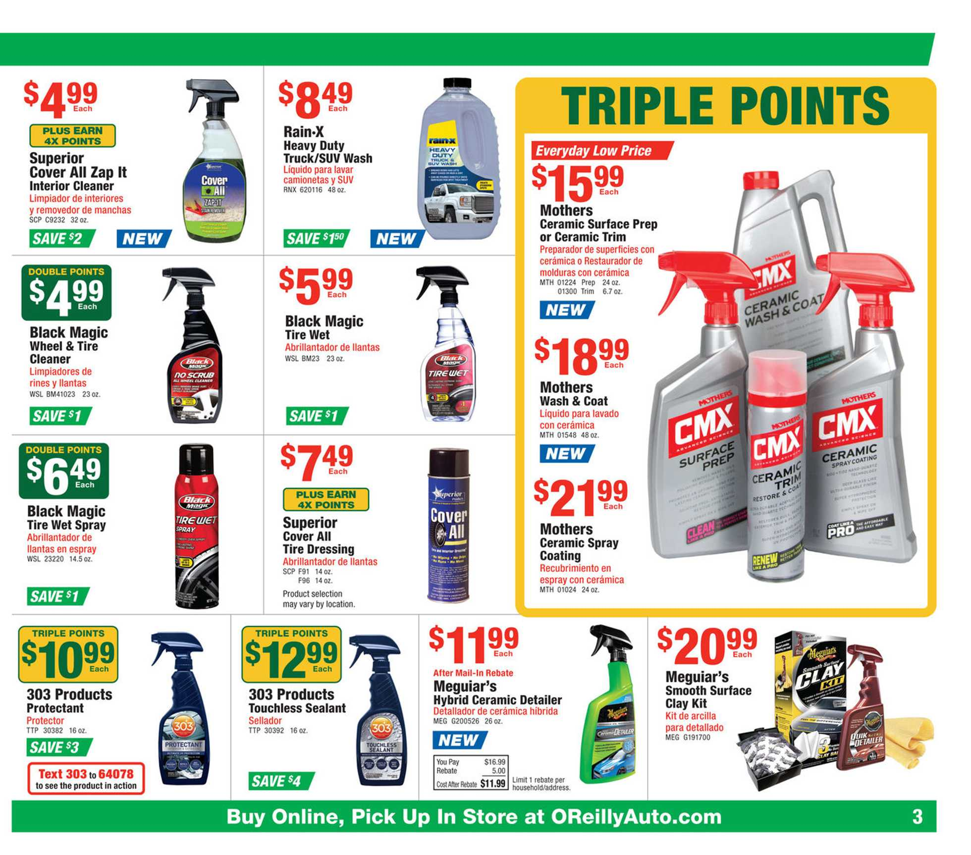 O'reilly - deals are valid from 06/24/20 to 07/28/20 - page 3.