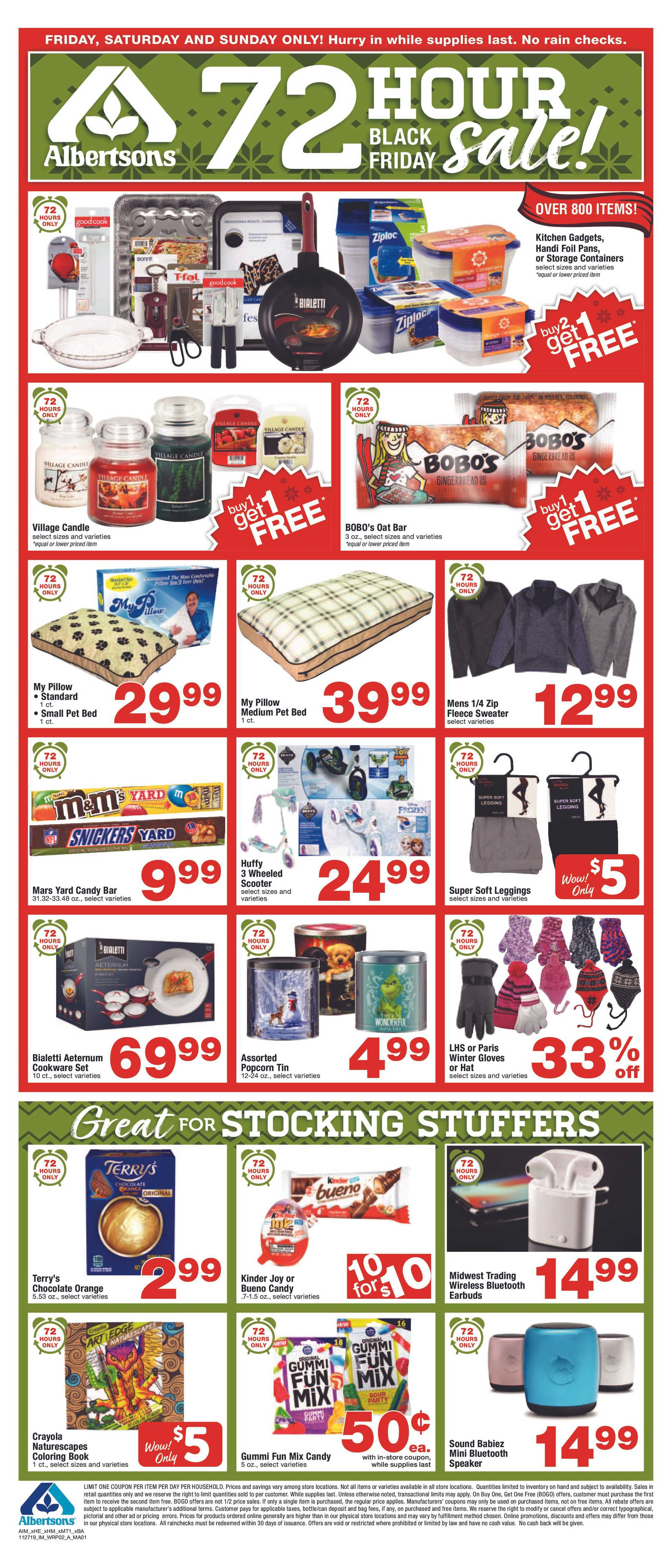 Albertsons - deals are valid from 11/29/19 to 12/03/19 - page 2.