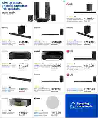 Best Buy - deals are valid from 05/05/19 to 05/11/19 - page 49.