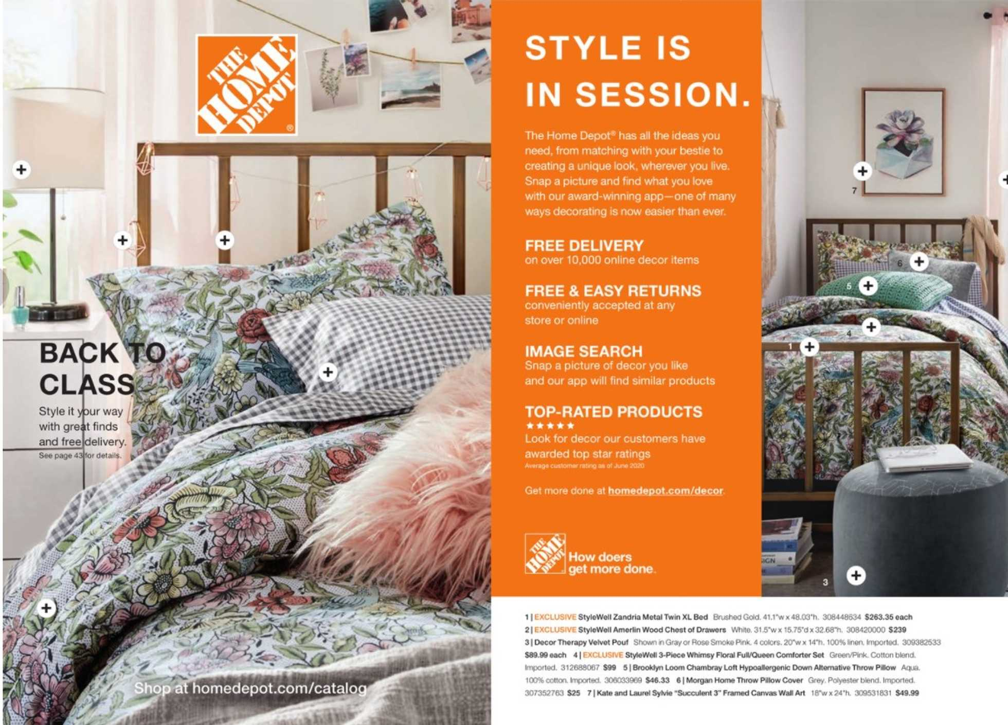 The Home Depot - deals are valid from 07/06/20 to 10/01/20 - page 1.