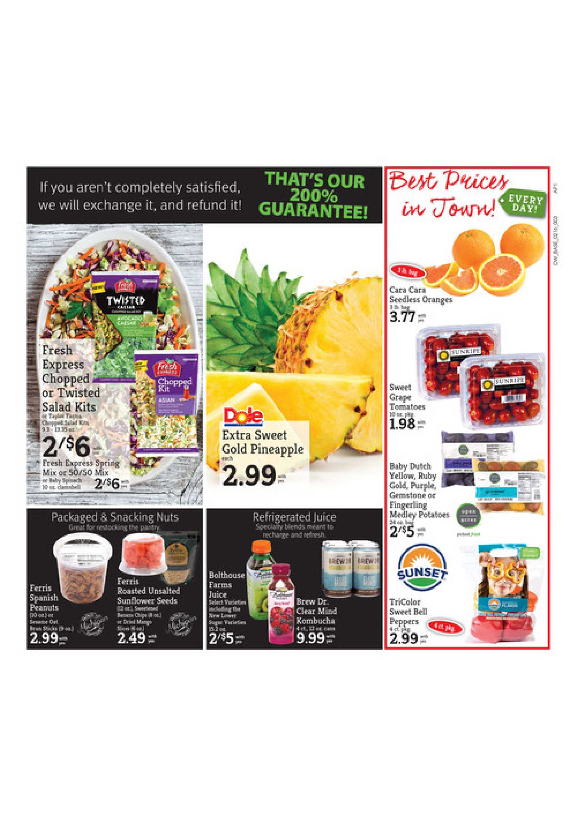 D&W Fresh Market - promo starting from 02/16/20 to 02/22/20 - page 3.