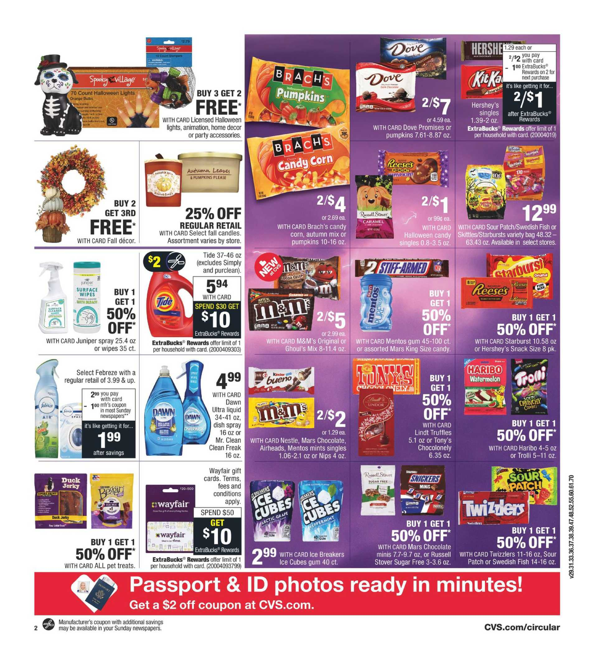 CVS - deals are valid from 09/27/20 to 10/03/20 - page 3.