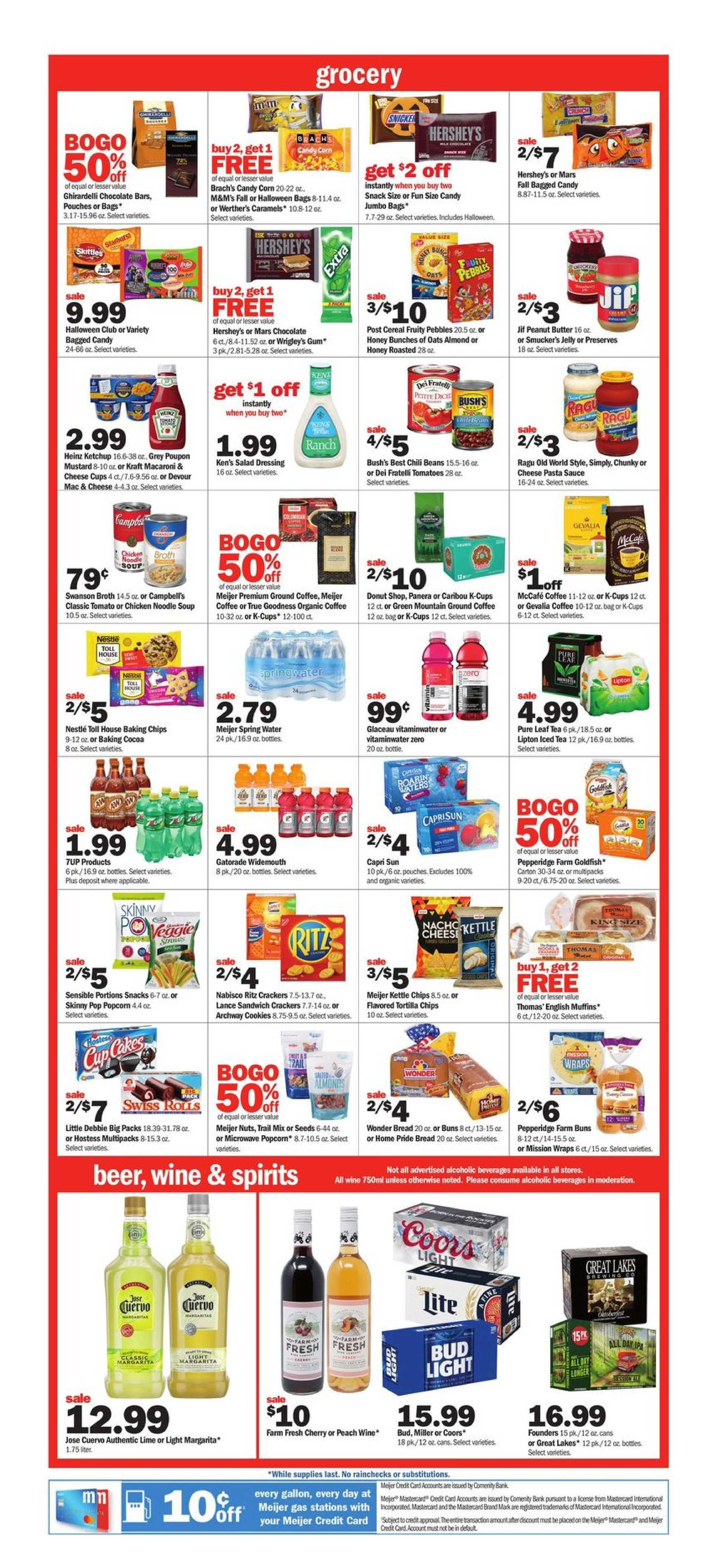 Meijer - deals are valid from 09/29/19 to 10/05/19 - page 3.
