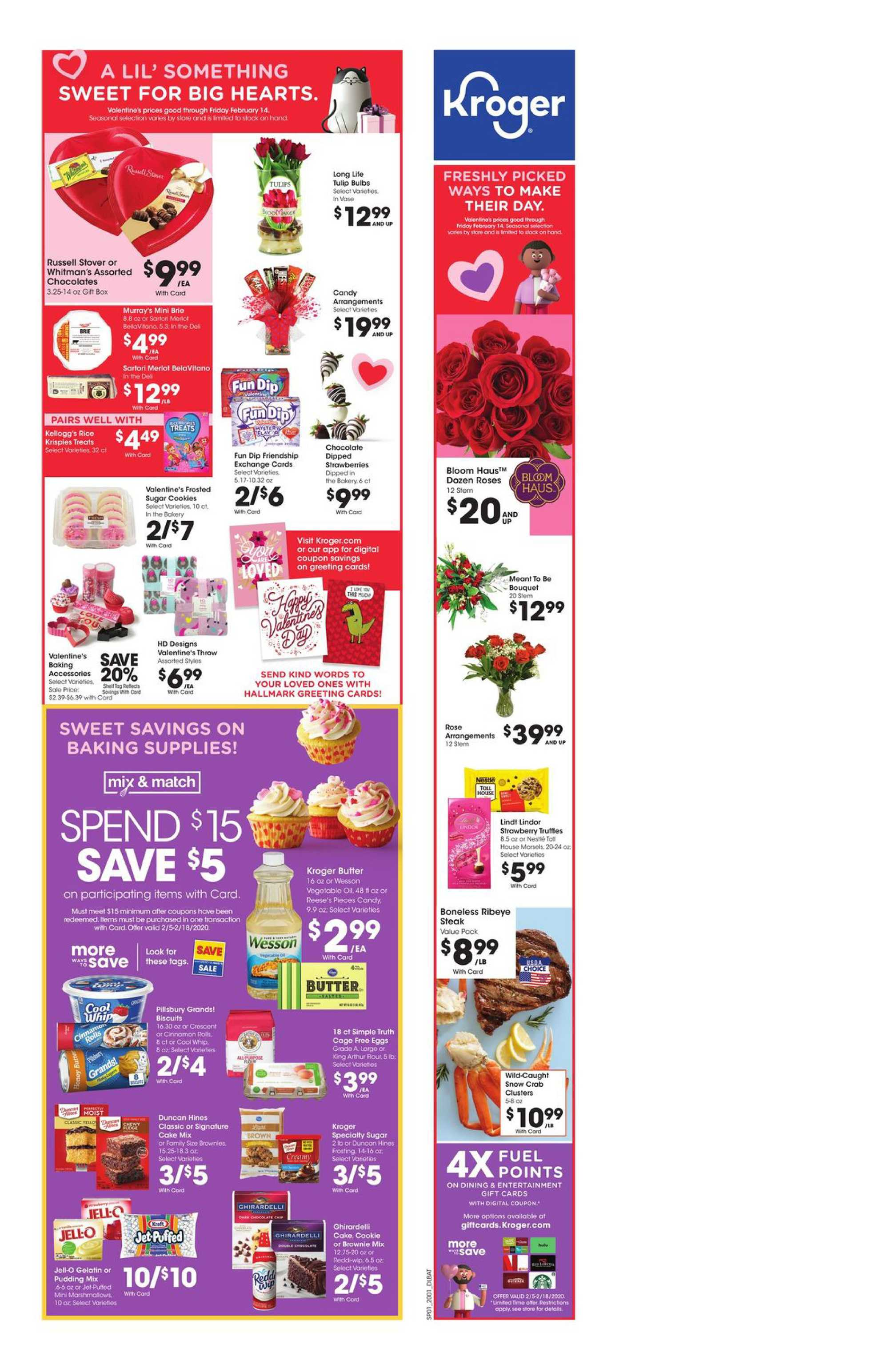 Kroger - deals are valid from 02/05/20 to 02/11/20 - page 2.
