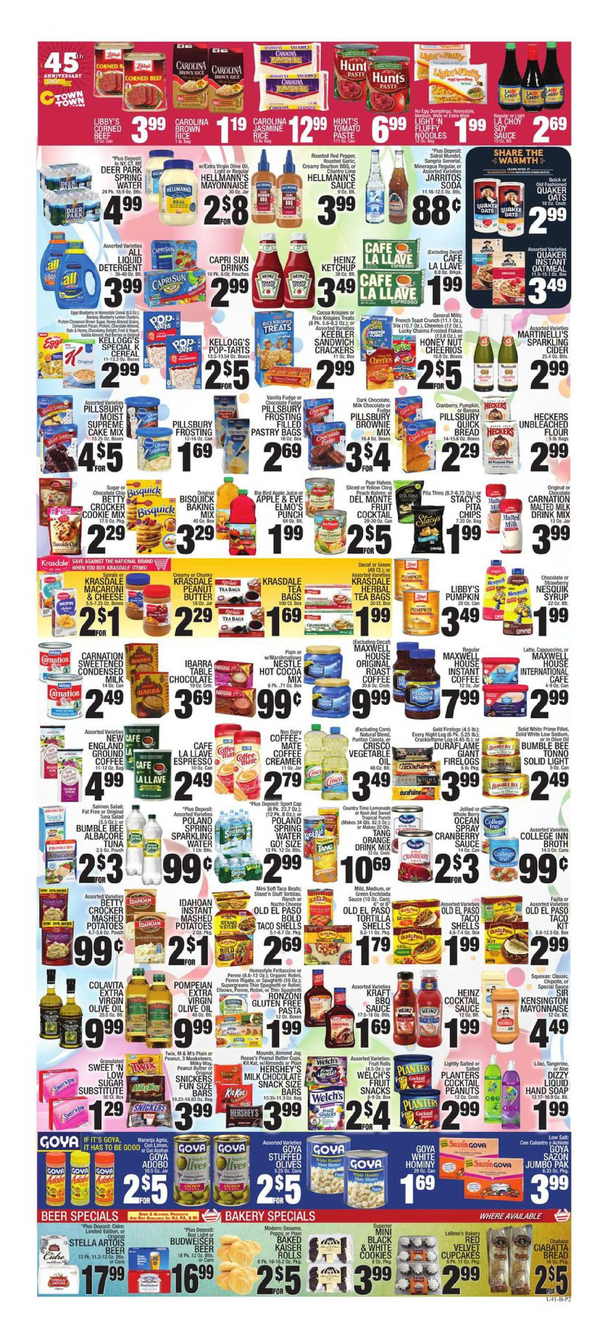 C-Town - deals are valid from 10/16/20 to 10/22/20 - page 2.
