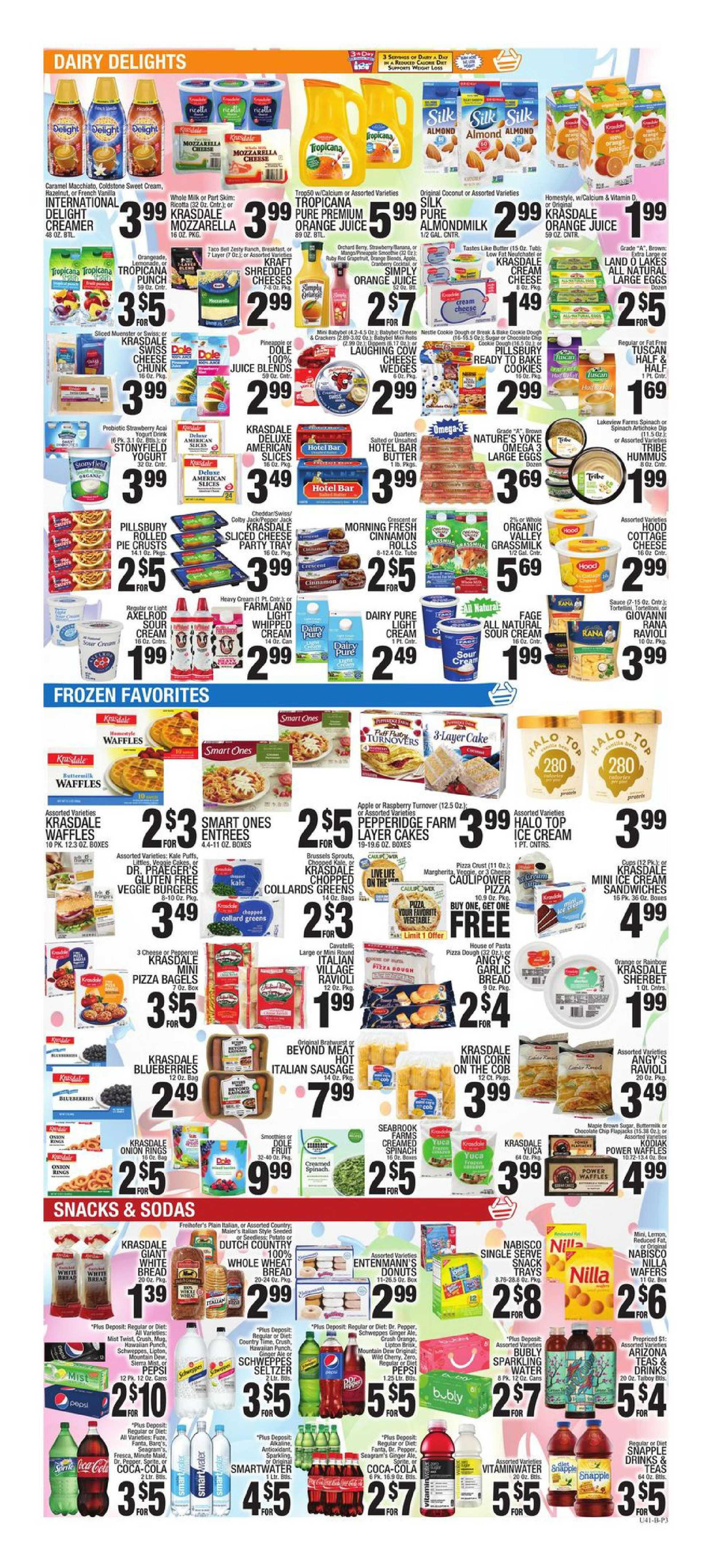 C-Town - deals are valid from 10/16/20 to 10/22/20 - page 3.