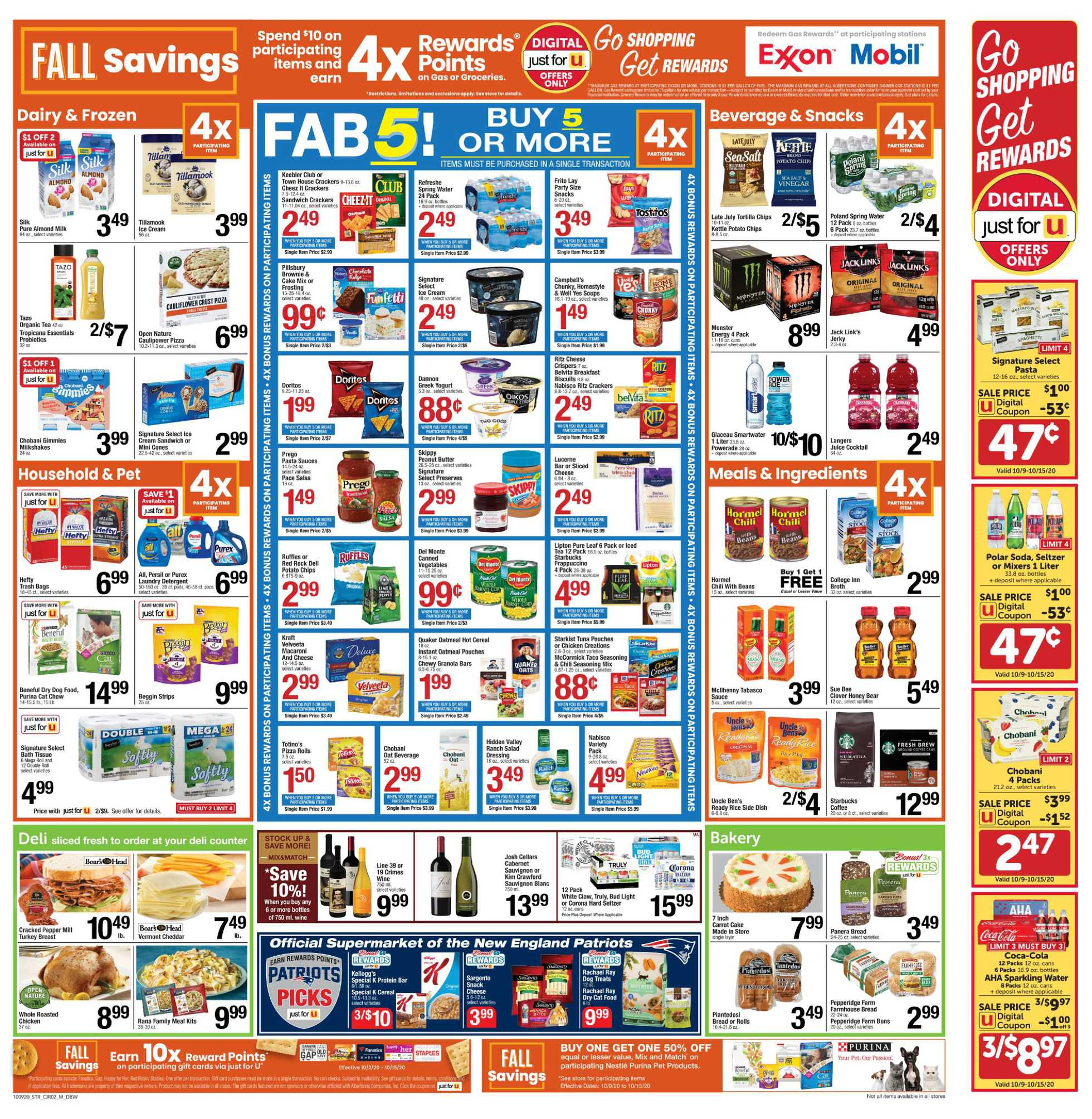Star Market - deals are valid from 10/09/20 to 10/15/20 - page 2.