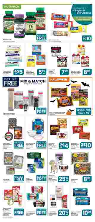 Star Market - deals are valid from 10/09/20 to 10/15/20 - page 5.