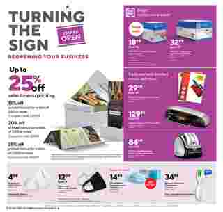 Staples - deals are valid from 09/20/20 to 09/26/20 - page 5.