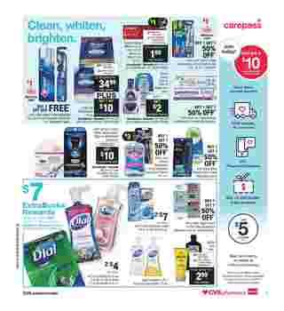 CVS - deals are valid from 10/06/19 to 10/12/19 - page 9.