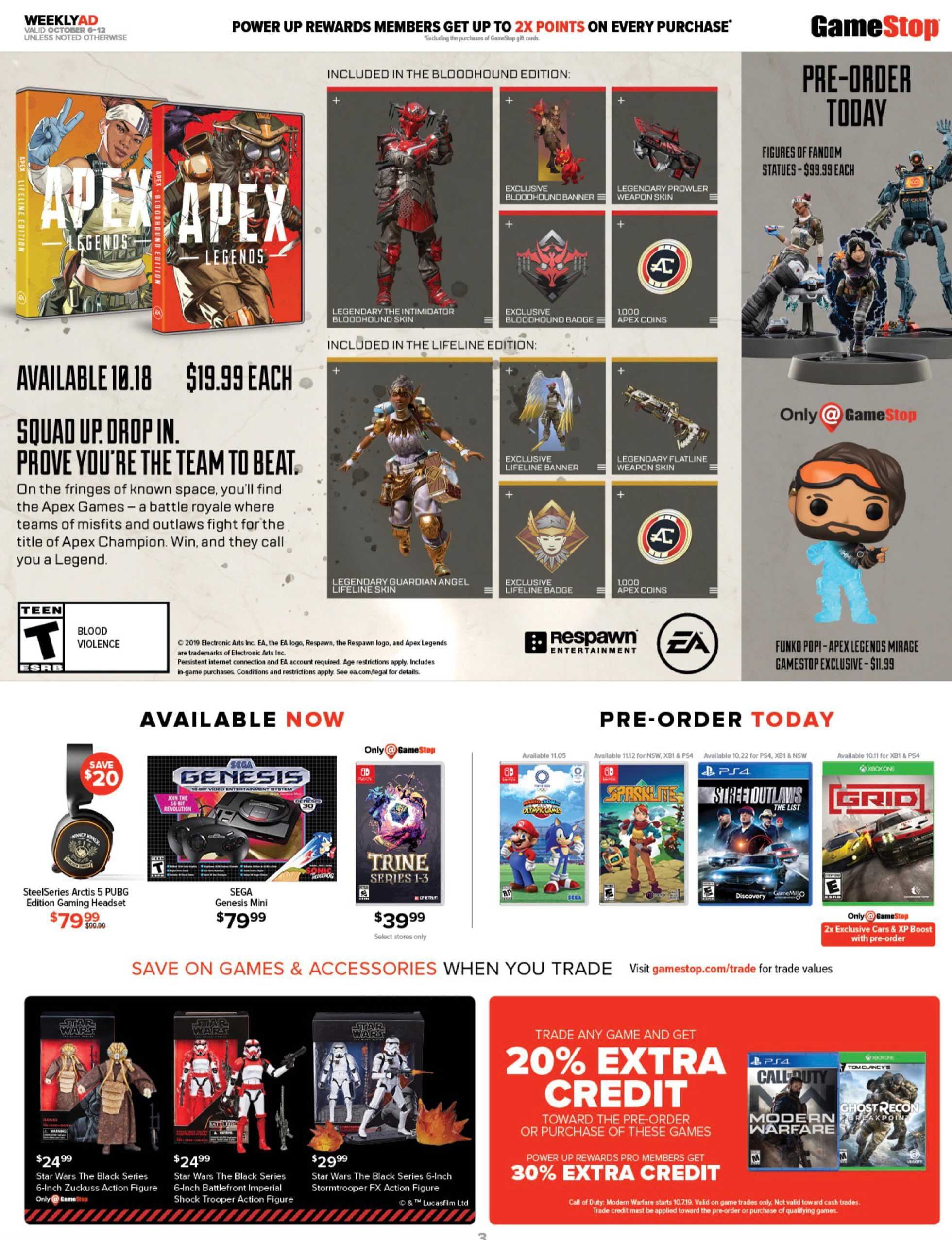 GameStop - deals are valid from 10/06/19 to 10/12/19 - page 3.