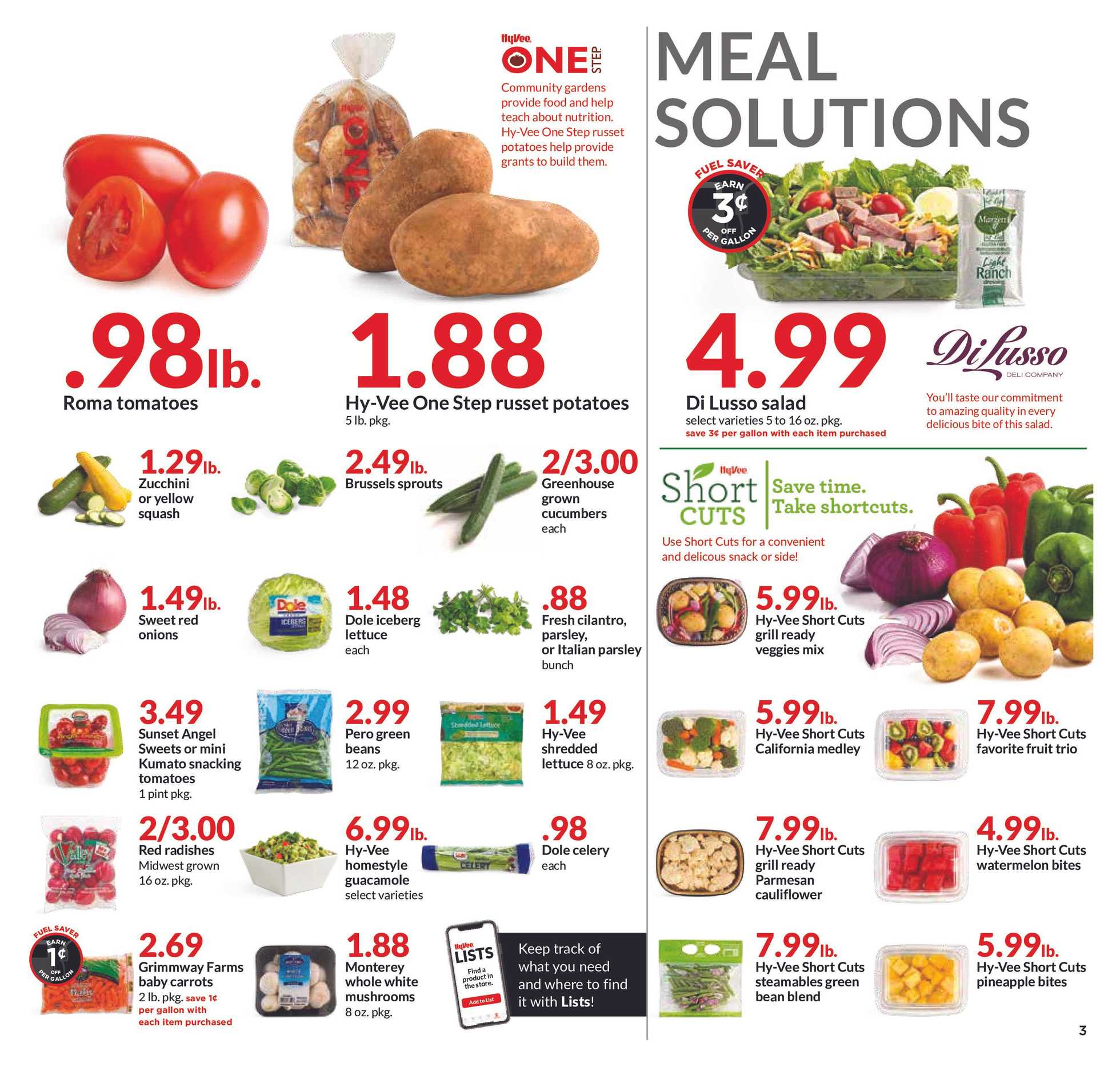 Hy-Vee - deals are valid from 10/02/19 to 10/08/19 - page 3.