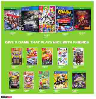 GameStop - deals are valid from 10/21/20 to 01/01/21 - page 31.