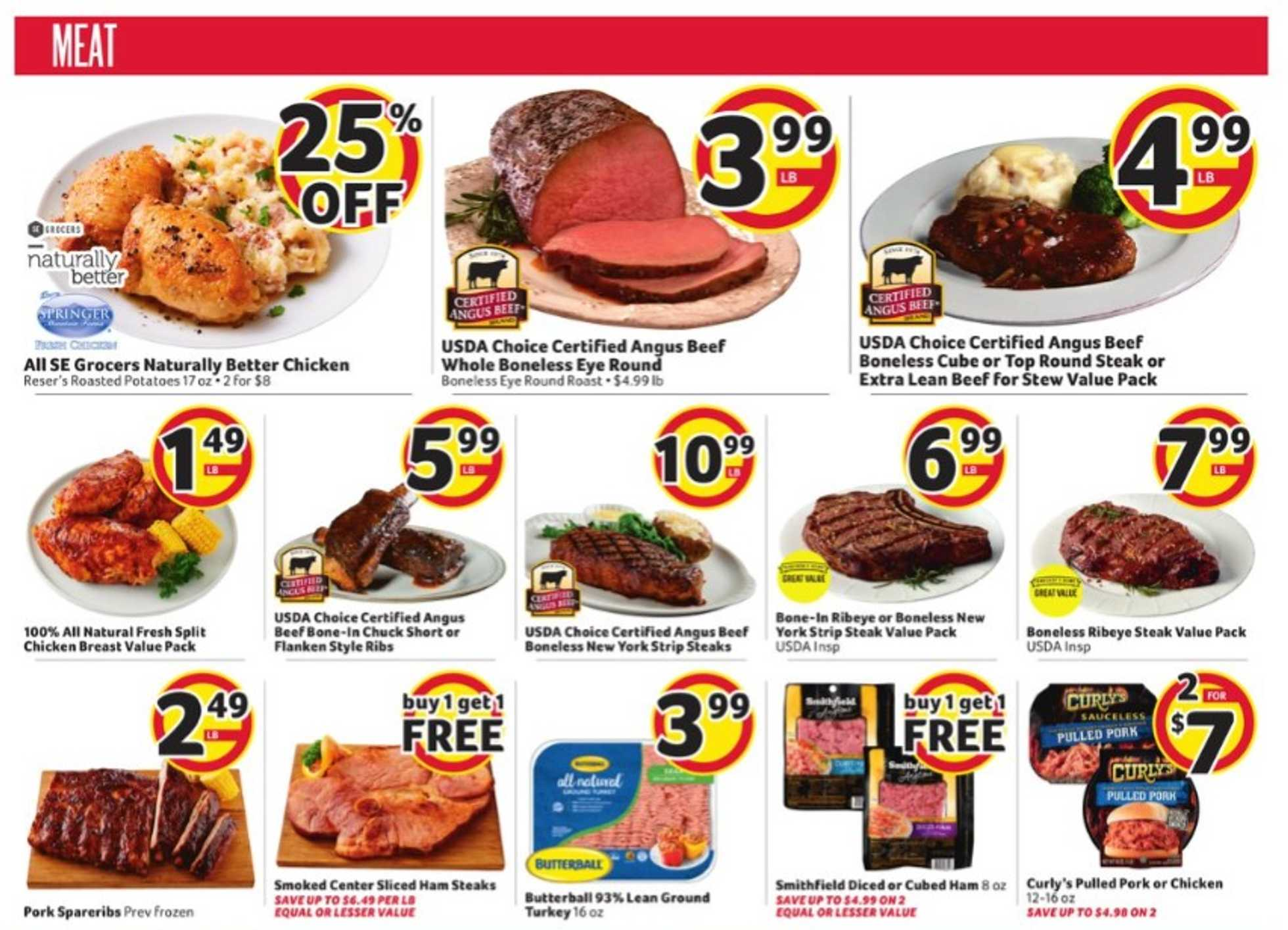 Winn Dixie - deals are valid from 09/30/20 to 10/07/20 - page 3.