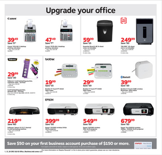 Staples - deals are valid from 01/12/20 to 01/18/20 - page 7.