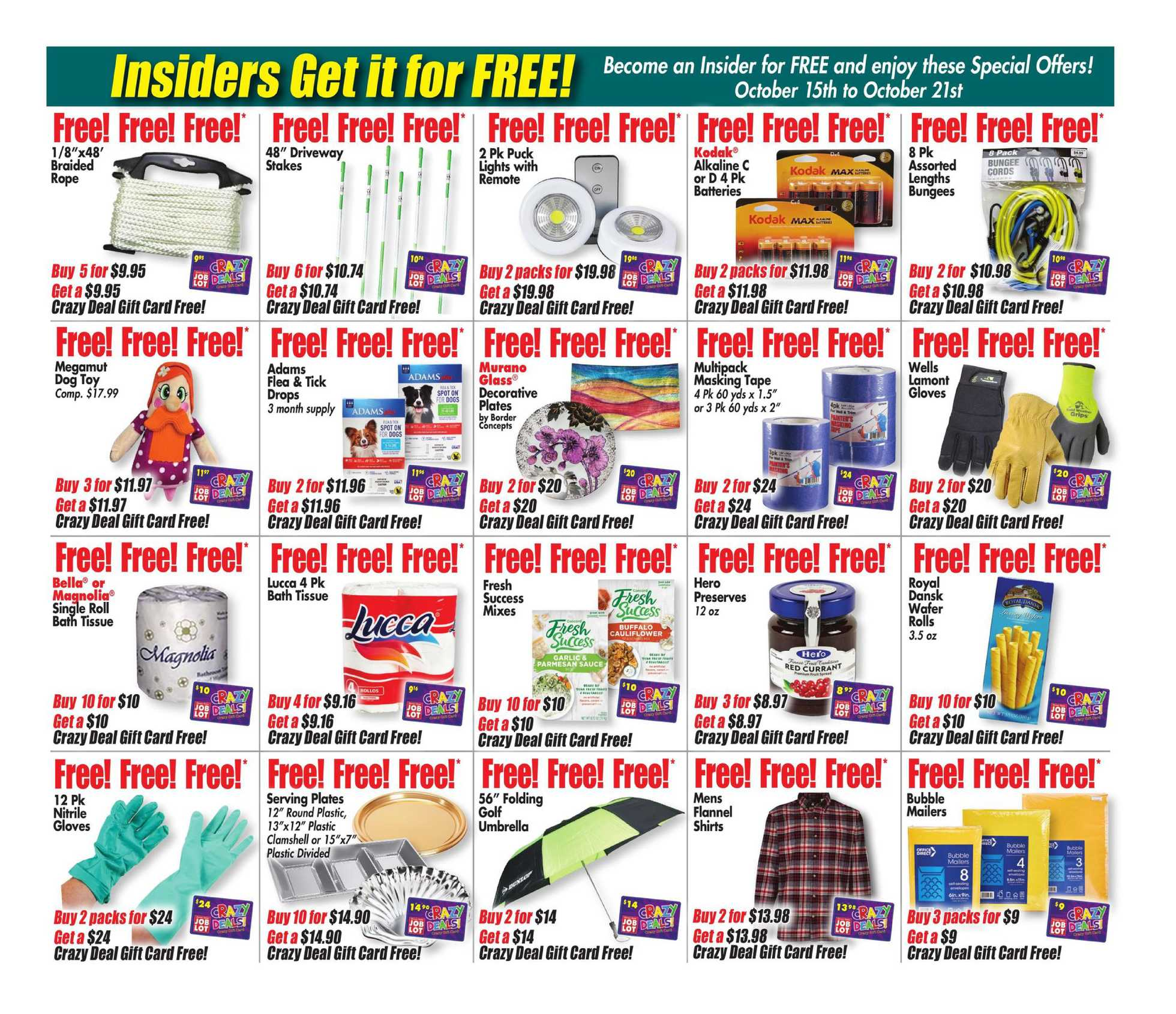 Ocean State Job Lot - deals are valid from 10/15/20 to 10/21/20 - page 2.