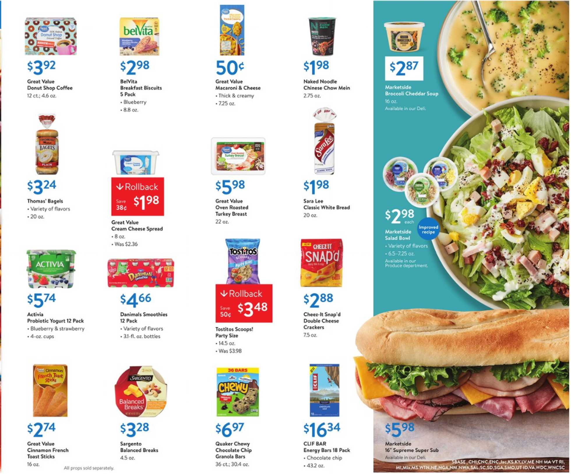 Walmart - deals are valid from 01/31/20 to 02/14/20 - page 3.