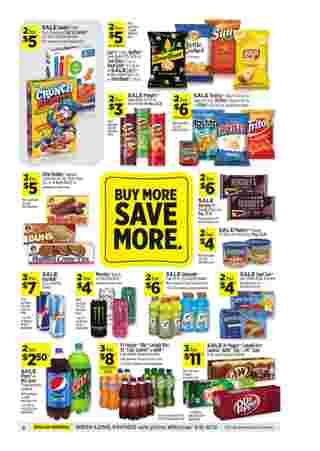 Dollar General - deals are valid from 09/06/20 to 09/12/20 - page 10.