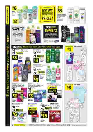 Dollar General - deals are valid from 09/06/20 to 09/12/20 - page 14.