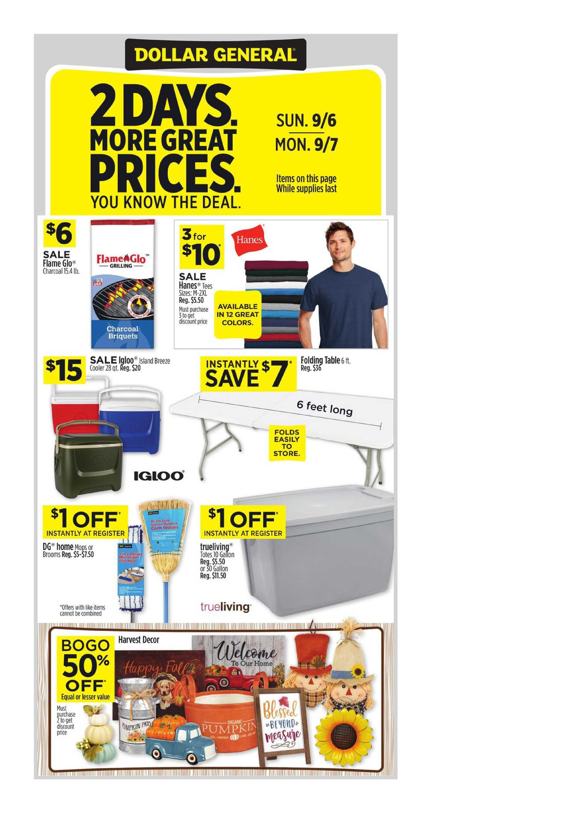 Dollar General - deals are valid from 09/06/20 to 09/12/20 - page 3.