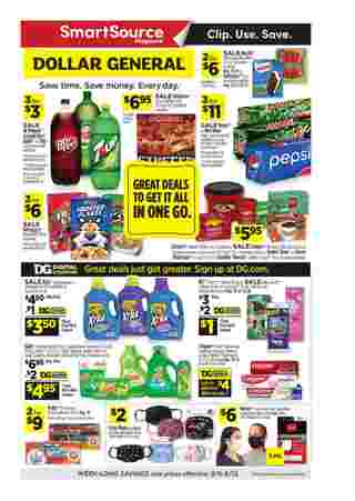 Dollar General - deals are valid from 09/06/20 to 09/12/20 - page 6.