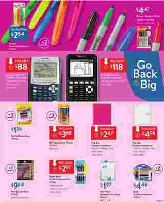 Walmart - deals are valid from 08/30/19 to 09/14/19 - page 15.