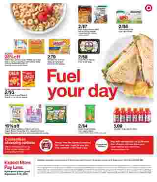 Target - deals are valid from 09/06/20 to 09/12/20 - page 27.