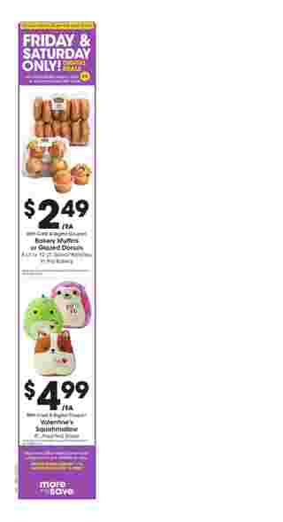 Kroger - promo starting from 01/15/20 to 01/21/20 - page 9. The promotion includes lost, muffins, donuts, muffins, donuts, lost