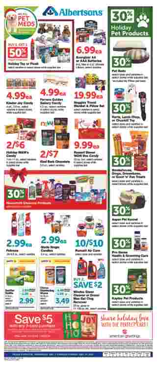 Albertsons - deals are valid from 12/03/19 to 01/06/20 - page 6.
