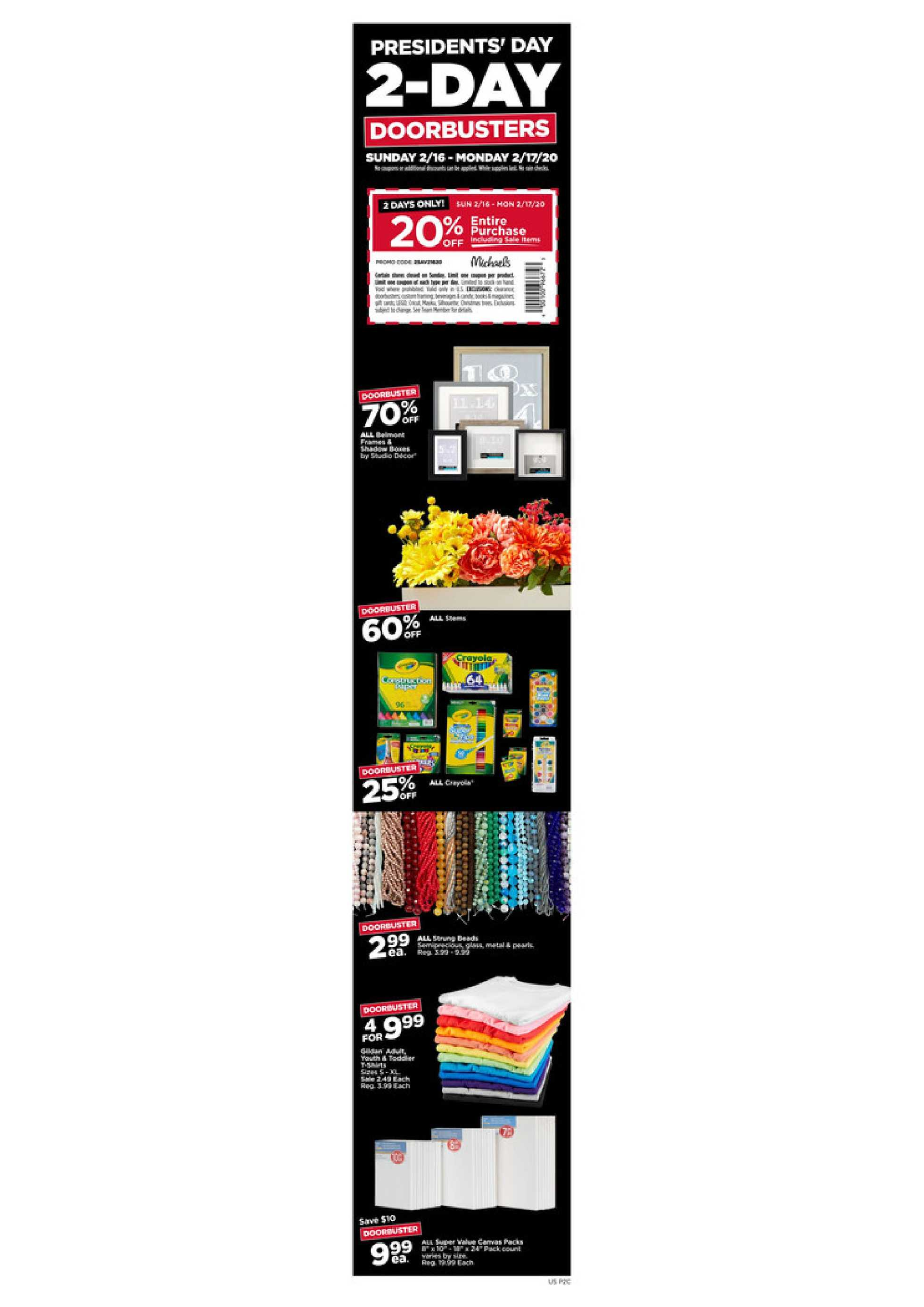 Michaels - promo starting from 02/16/20 to 02/22/20 - page 4.