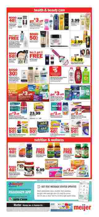 Meijer - deals are valid from 09/29/19 to 10/05/19 - page 13.