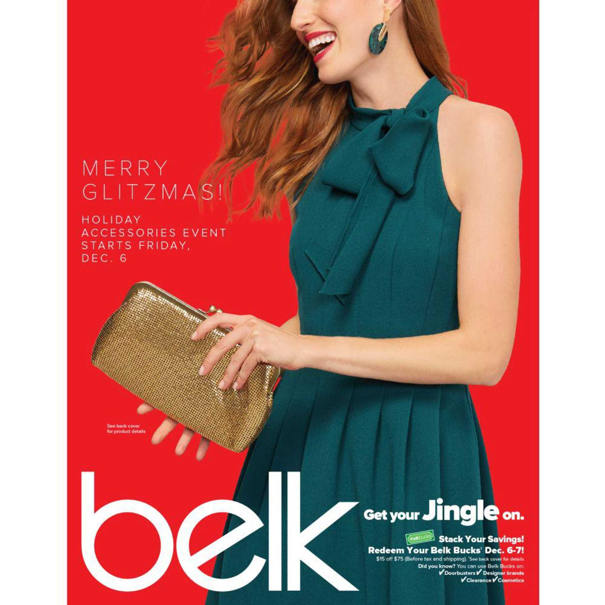 Belk - deals are valid from 12/06/19 to 12/25/19 - page 1.