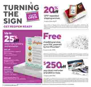 Staples - deals are valid from 08/16/20 to 08/22/20 - page 21.