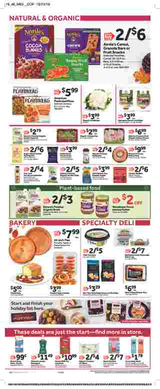 Stop & Shop - deals are valid from 11/08/19 to 11/14/19 - page 7.