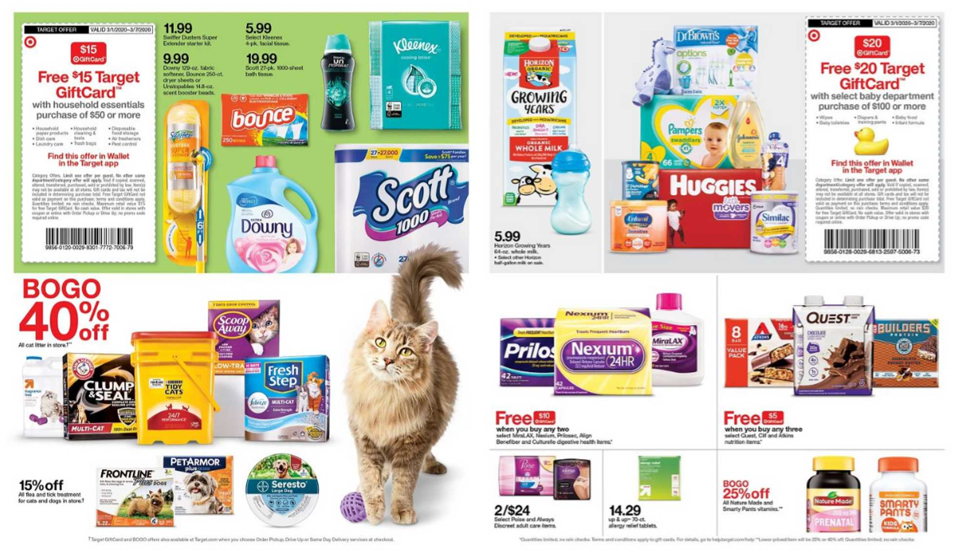 Target - deals are valid from 03/01/20 to 03/07/20 - page 2.