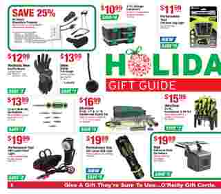O'reilly - deals are valid from 11/25/20 to 12/29/20 - page 6.