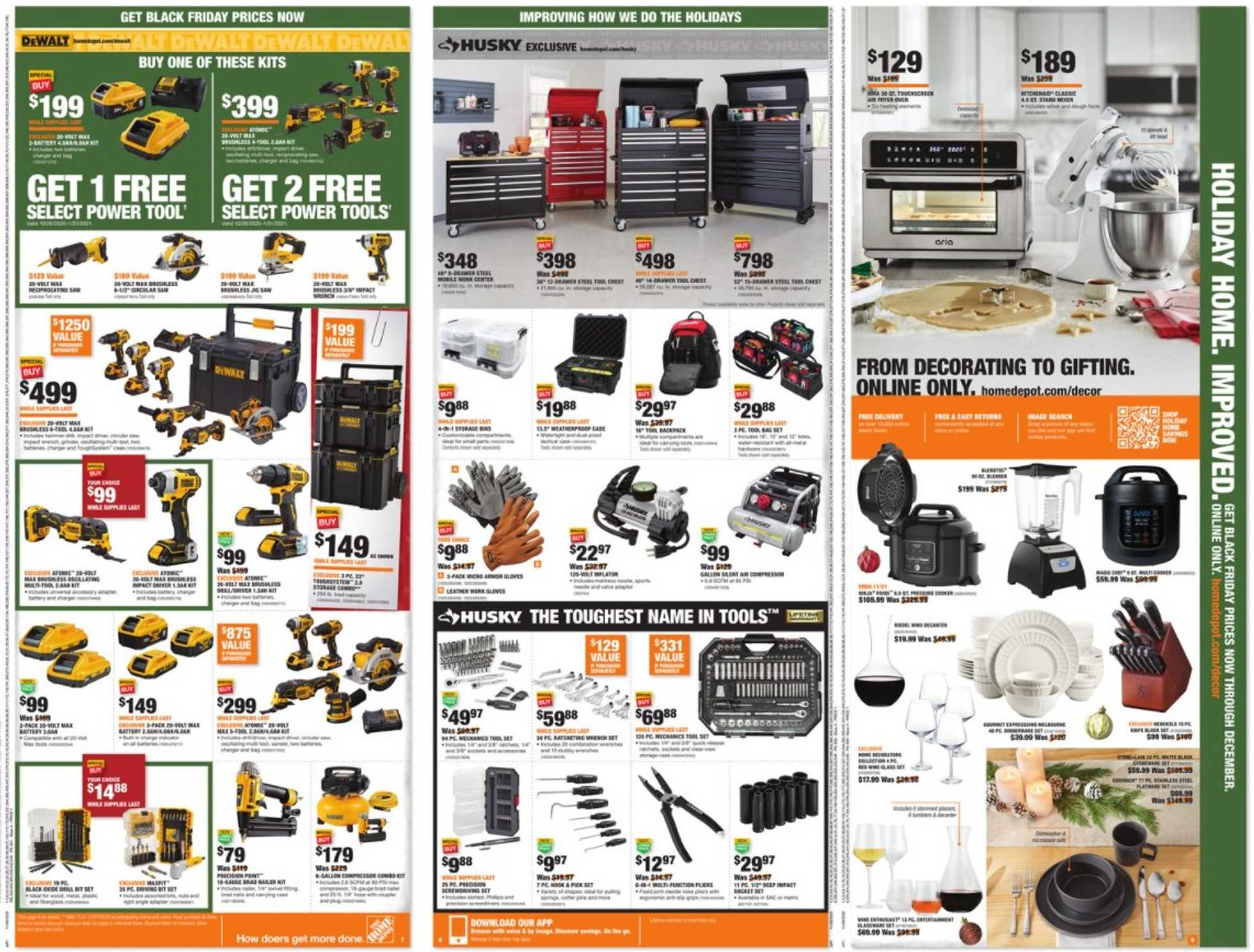 The Home Depot - deals are valid from 11/08/20 to 12/02/20 - page 3.