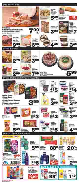 Albertsons - deals are valid from 08/21/19 to 08/27/19 - page 5.