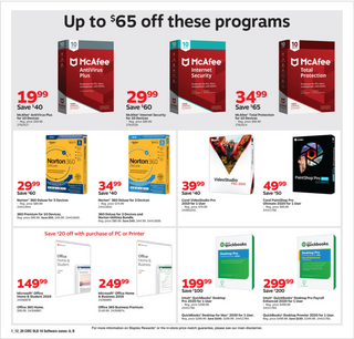 Staples - deals are valid from 01/12/20 to 01/18/20 - page 14.