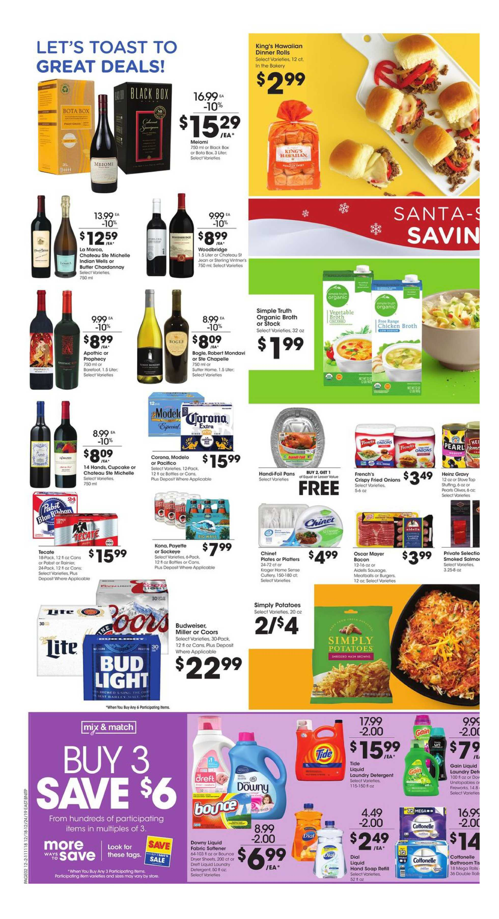 Fred Meyer - promo starting from 12/18/19 to 12/24/19 - page 2.
