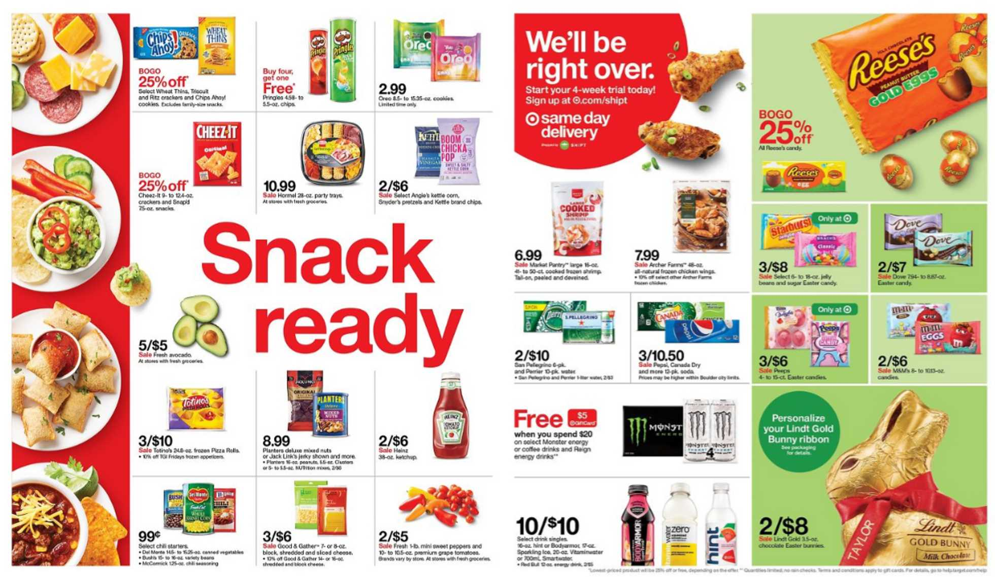 Target - deals are valid from 03/15/20 to 03/21/20 - page 2.