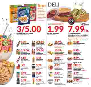 Hy-Vee - deals are valid from 10/02/19 to 10/08/19 - page 7.