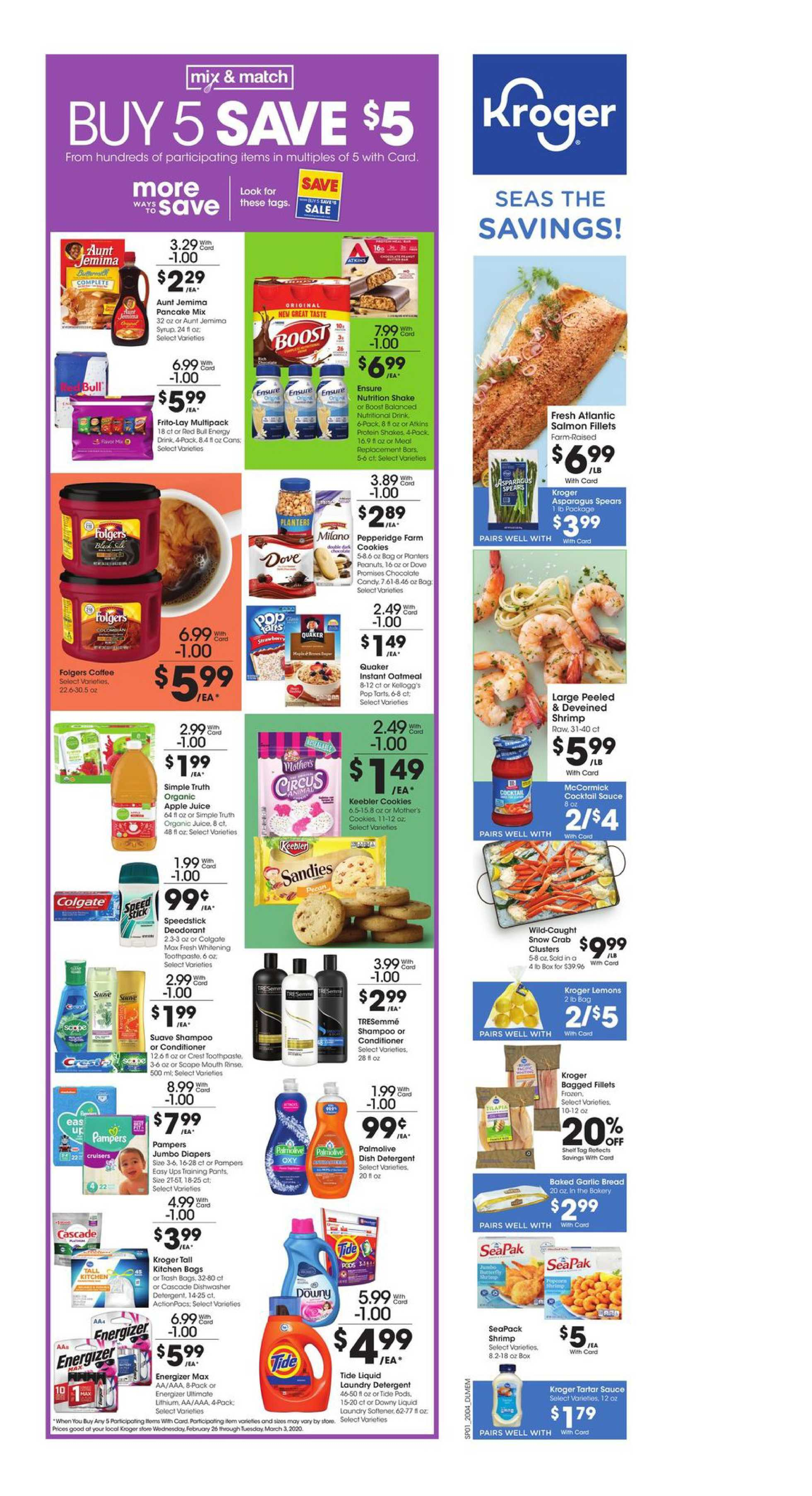 Kroger - deals are valid from 02/26/20 to 03/03/20 - page 2.