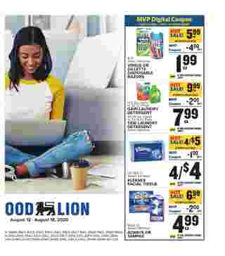 Food Lion - deals are valid from 08/12/20 to 08/18/20 - page 14.